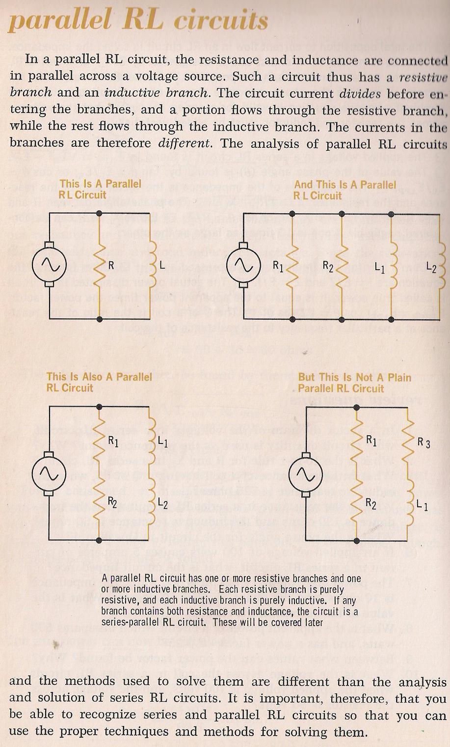 Rlc Circuits Such As Series Parallel And 015 Rl By Larry E Gugle K4rfe