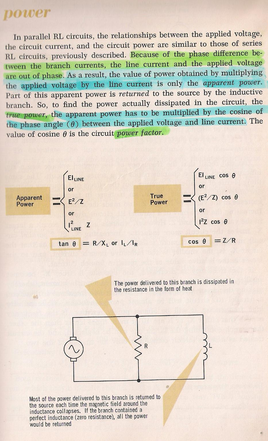 Rlc Circuits Series Rc Or Rl Circuit Into An Equivalent Parallel 021 Power By Larry E Gugle K4rfe