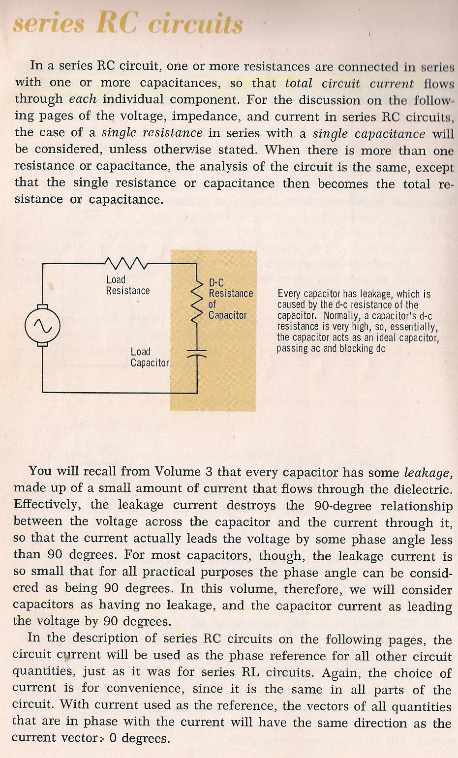 Rlc Circuits Series Rc Circuit Graph On Impedance Of Diagram 025 By Larry E Gugle K4rfe
