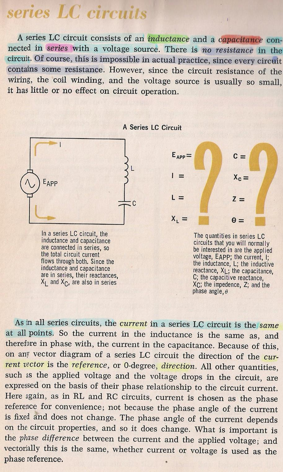 Rlc Circuits 001 Vectors Introduction By Larry E Gugle K4rfe Ac Circuit Inductance And Capacitance Lcr In Series 040 Lc