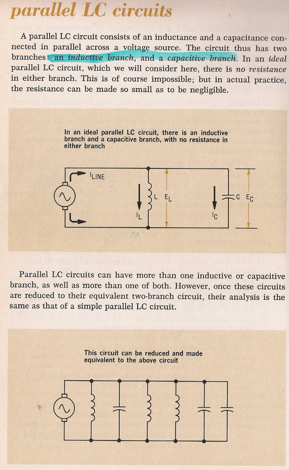 Rlc Circuits Parallel Circuit Resistance As Well Series And 062 Lc By Larry E Gugle K4rfe