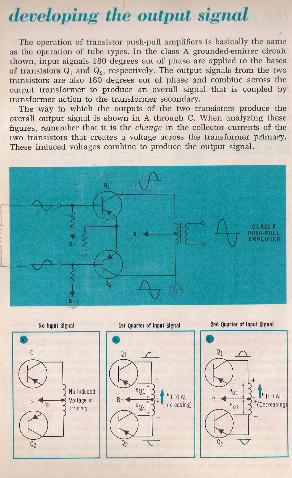 Amplifiers Push Pull Amplifier Schematic 023 The Cathode Coupled Source By Larry E Gugle K4rfe