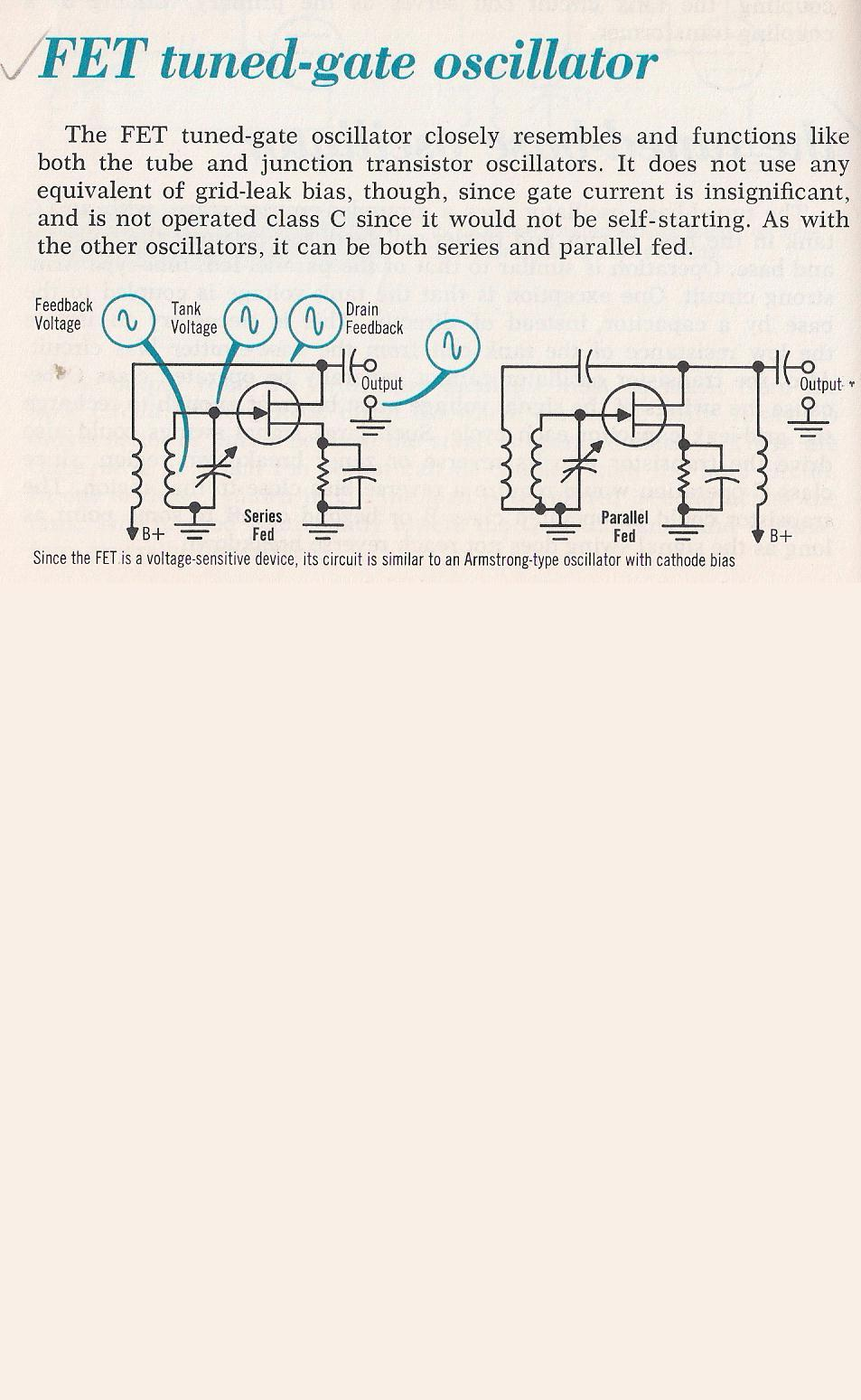 Oscillators Transistor 015 The Tuned Gate Oscillator Larry E Gugle K4rfe