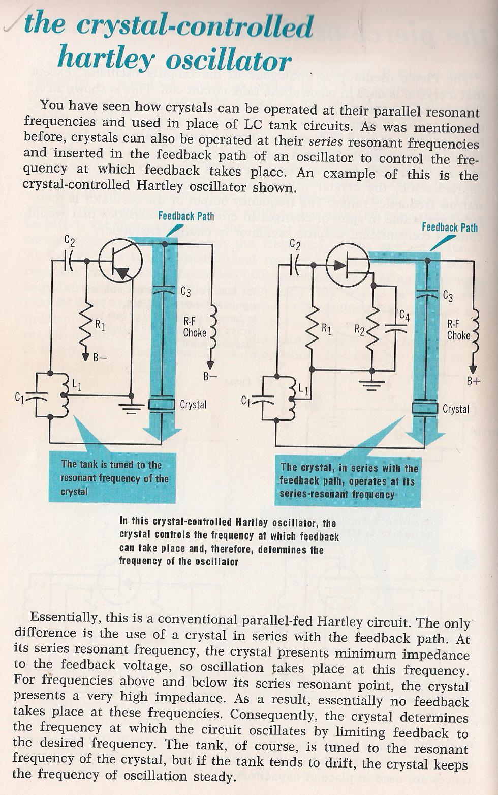Oscillators Crystal Oscillator Circuits 025 Resonant Frequency Larry E Gugle K4rfe 026 Equivalent Circuit