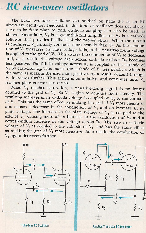 Oscillators Transistoroscillatorcircuits Twotransistorsinewaveoscillator 031a Rc Sine Wave Larry E Gugle K4rfe