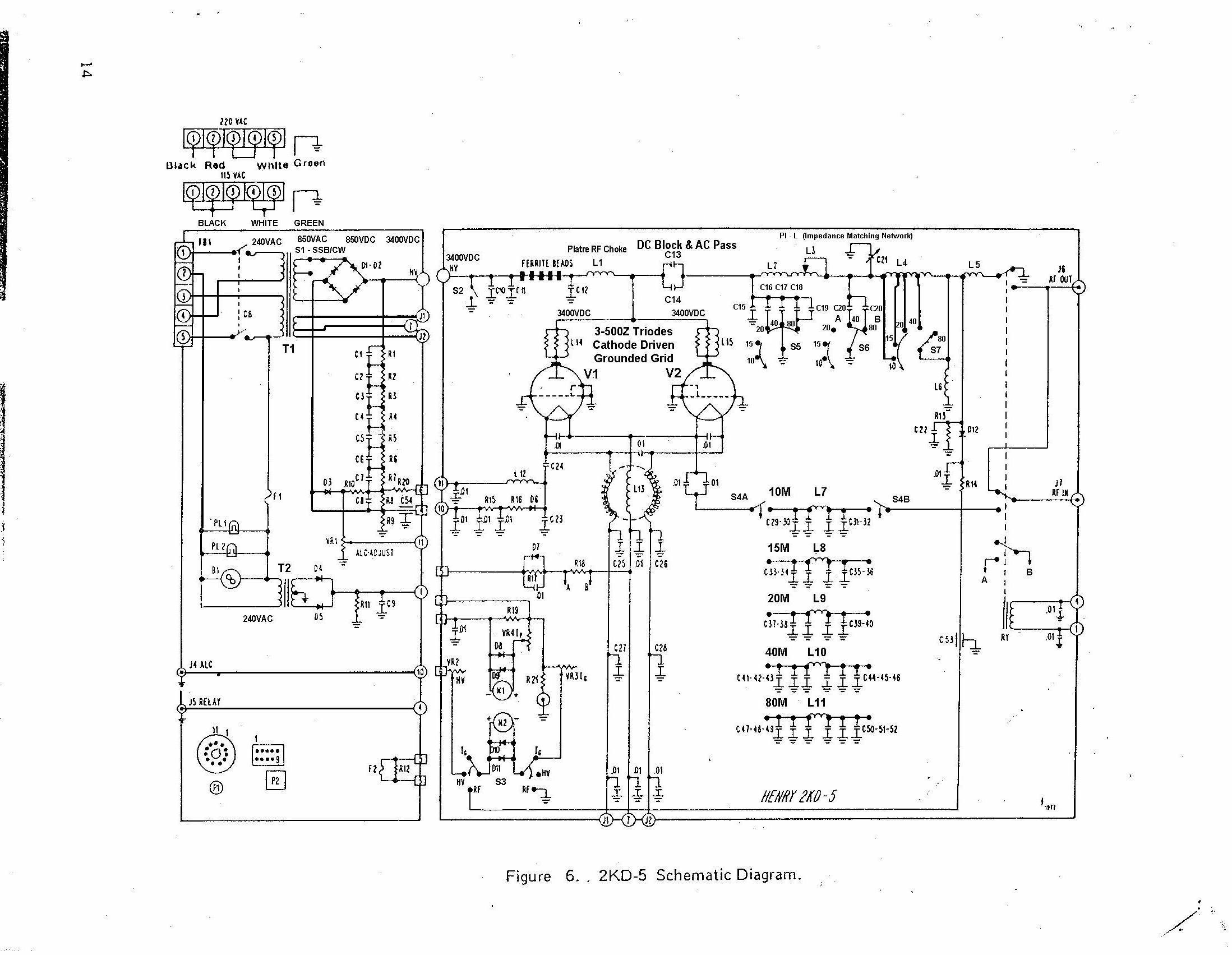 Rfpa Schematic Diagram Henry 2kd 5