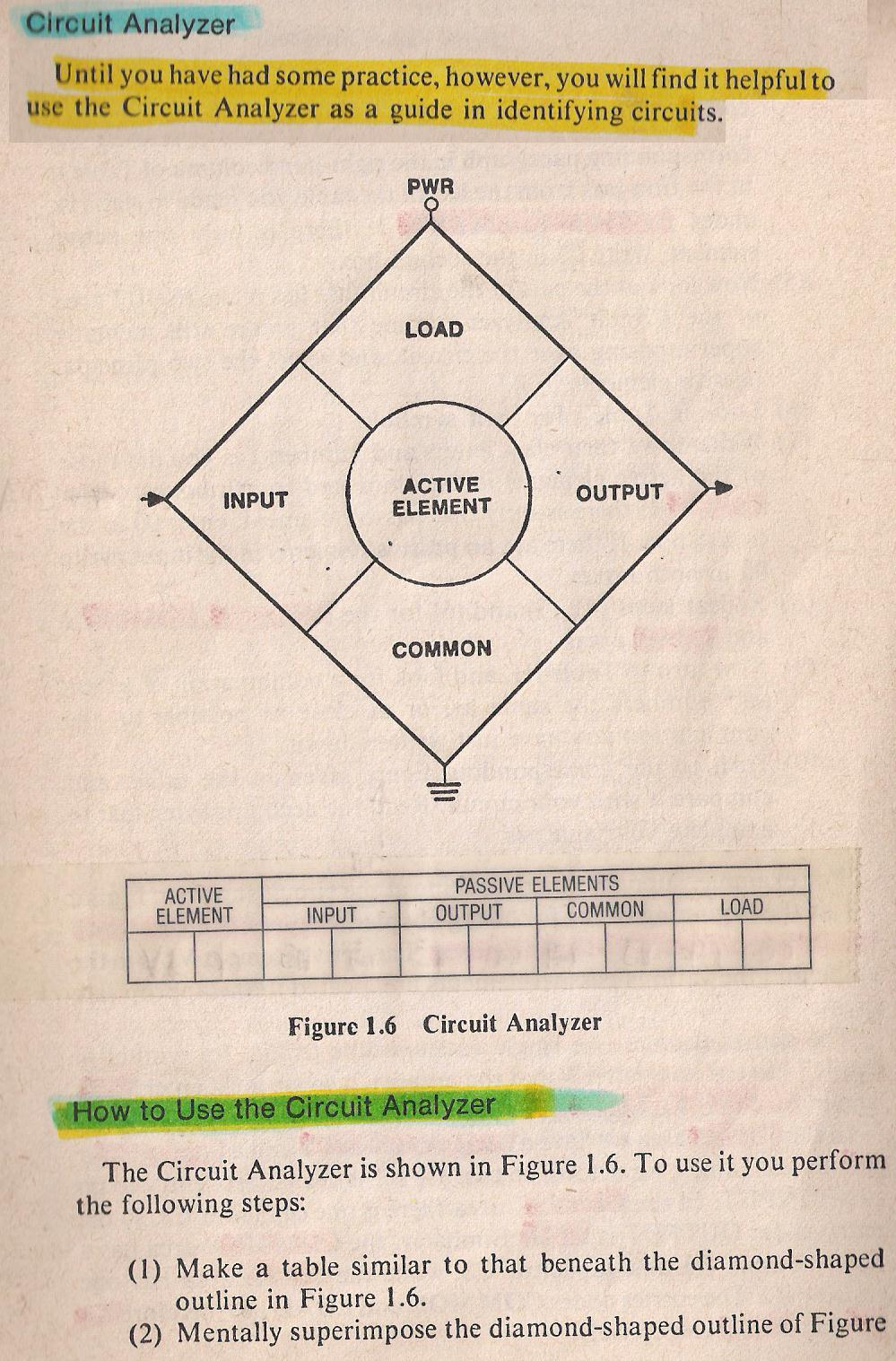Reading And Analyzing Schematic Diagrams Diagram 001g By Larry E Gugle K4rfe